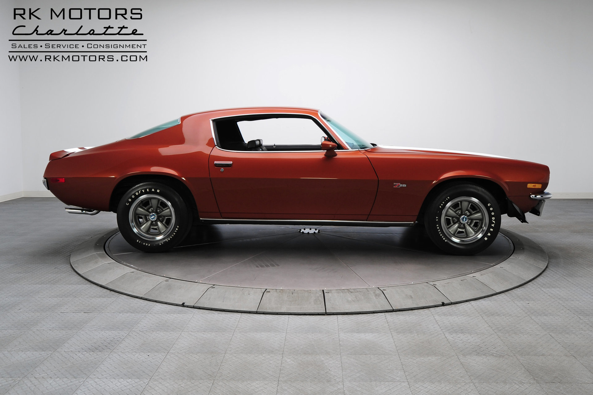 132918 1970 Chevrolet Camaro Rk Motors Classic And