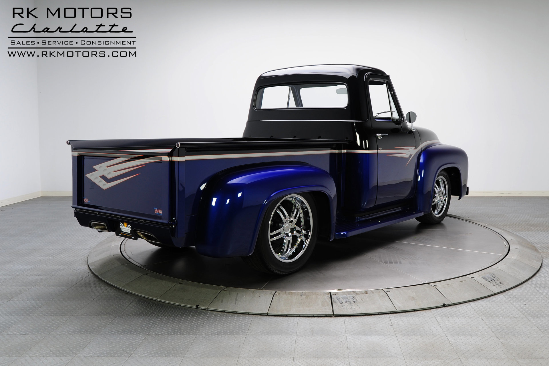 132949 1955 Ford F100 Rk Motors Classic And Performance Cars For Sale Side