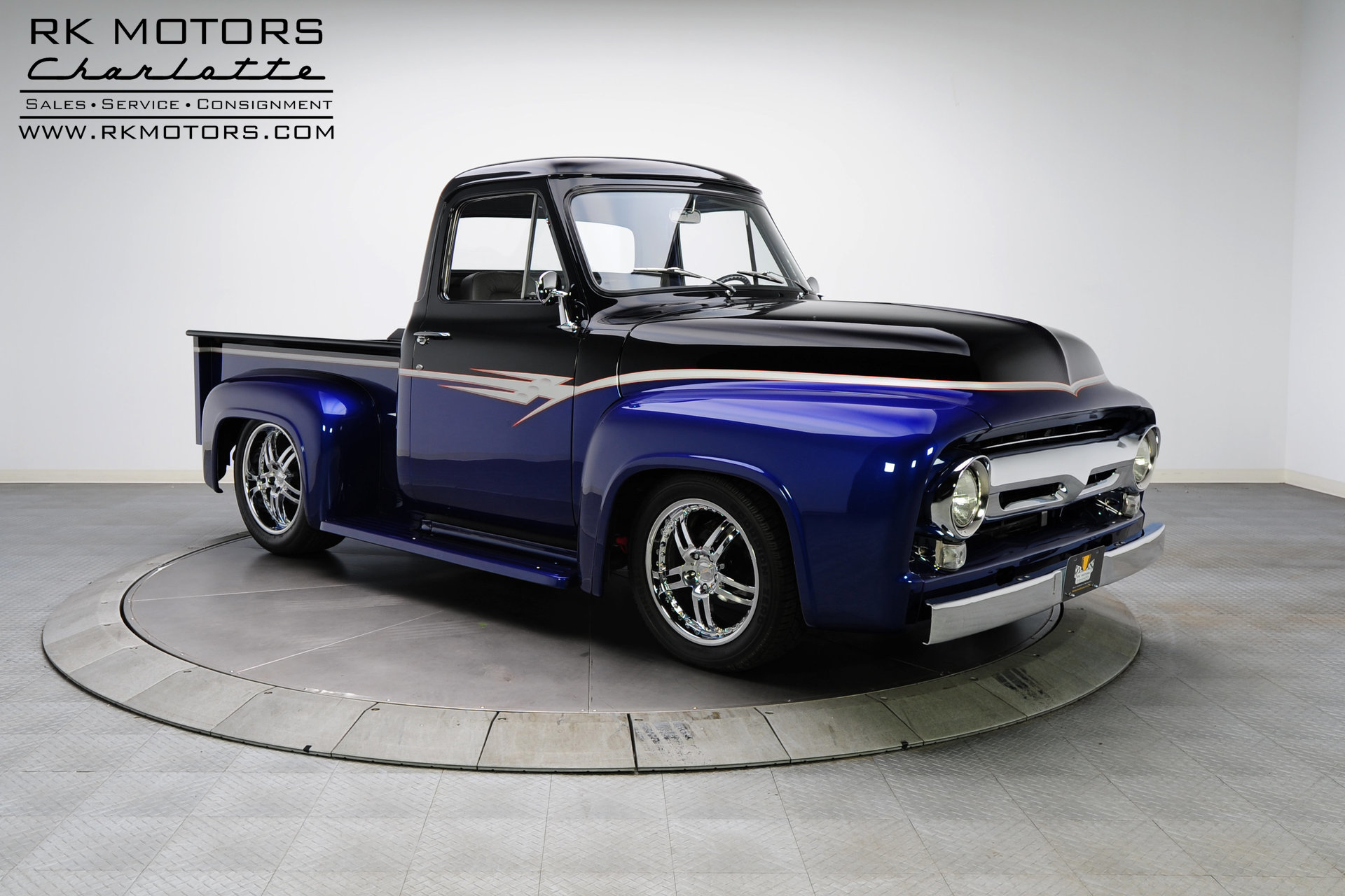 132949 1955 Ford F100 Rk Motors Classic Cars For Sale Parts