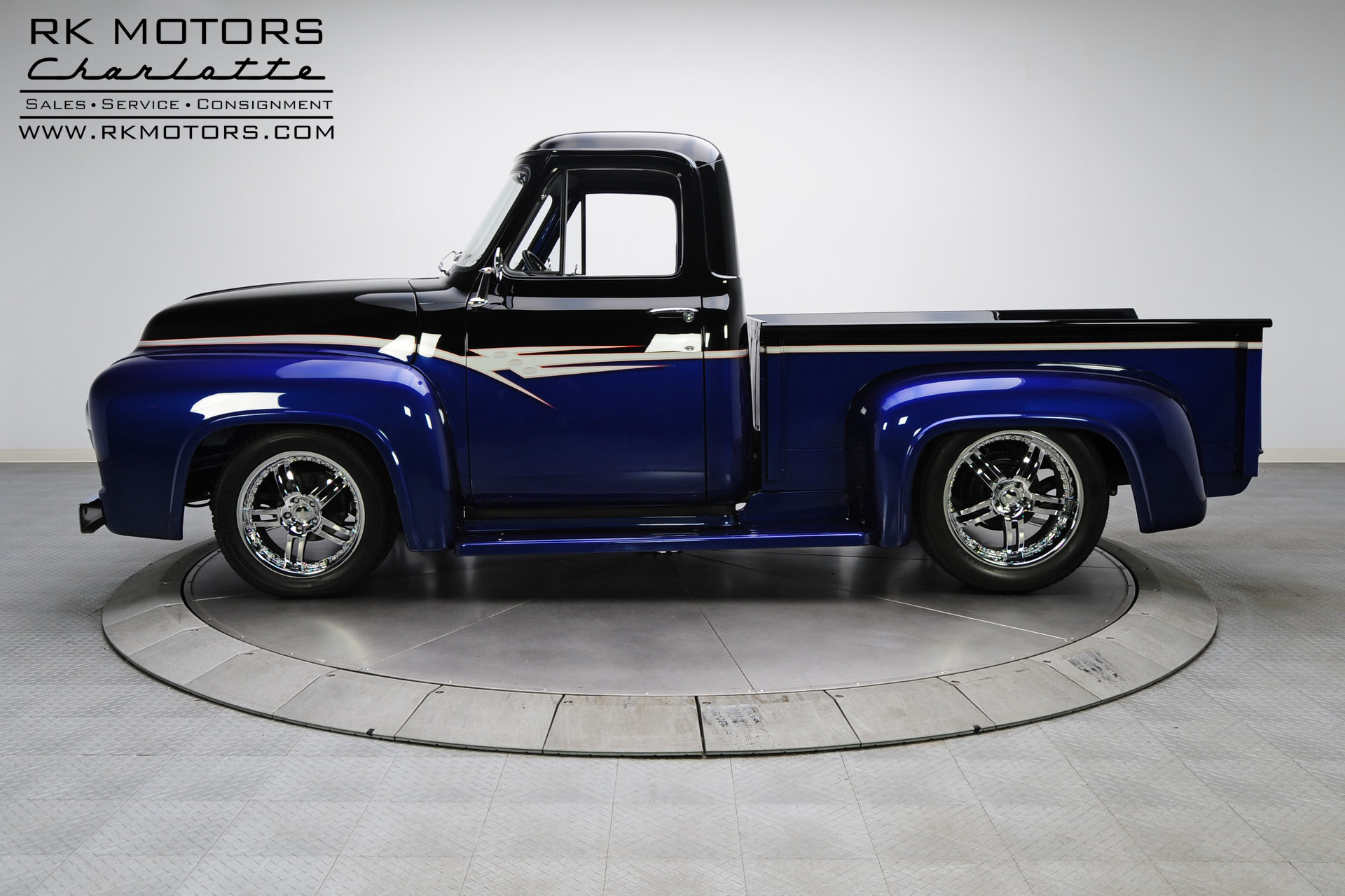 132949 1955 Ford F100 Rk Motors Classic Cars For Sale Pick Up