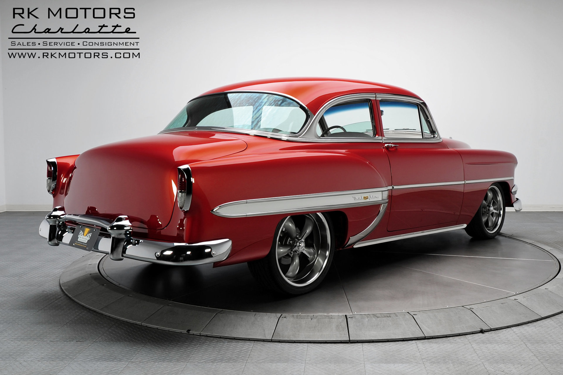 133058 1954 Chevrolet Bel Air Rk Motors Classic Cars For Sale 4 Door