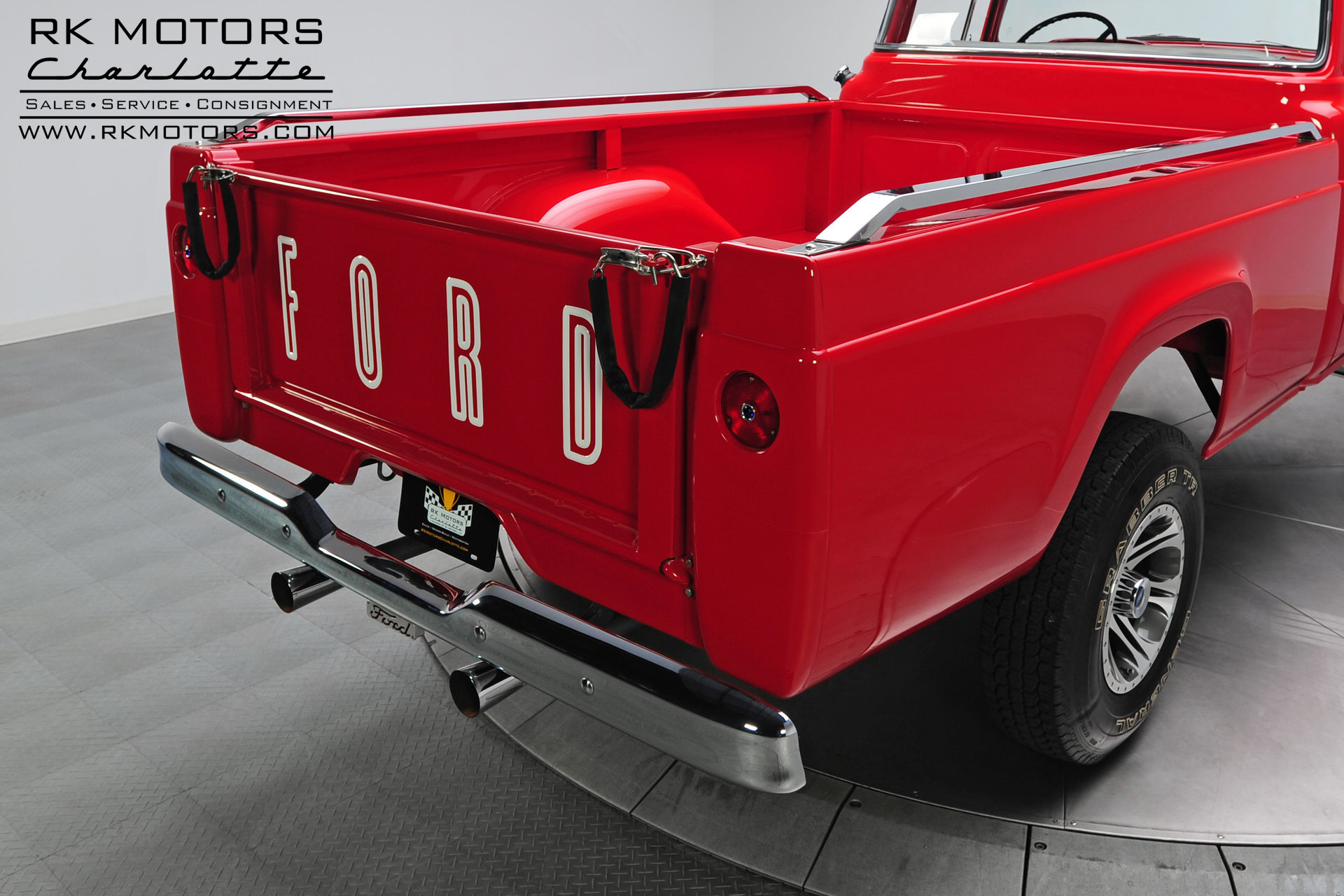 133083 1959 Ford F100 Rk Motors Classic Cars For Sale 1955 White 4x4