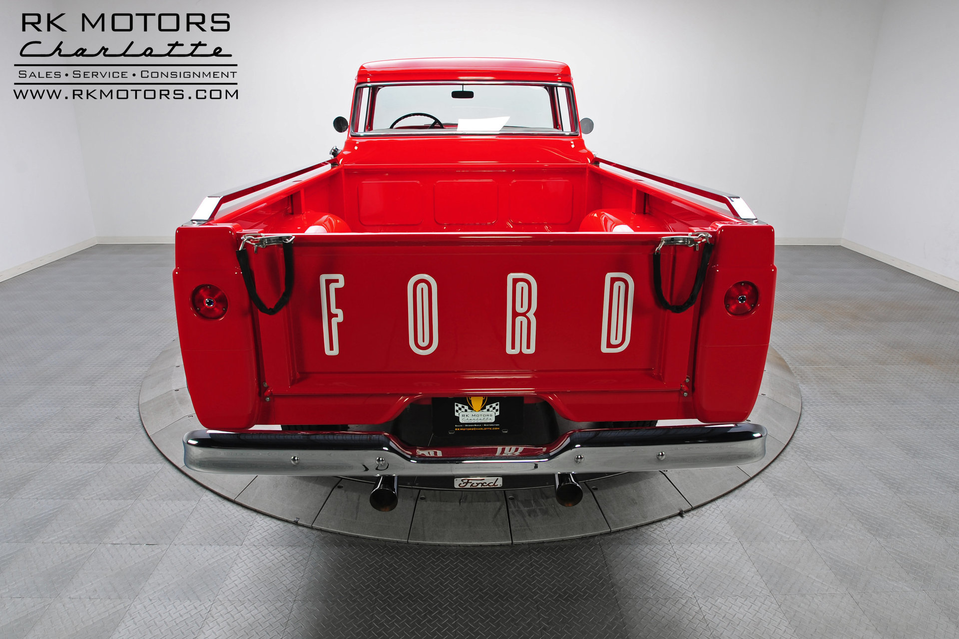 133083 1959 Ford F100 Rk Motors Classic And Performance Cars For Sale 1955 Red