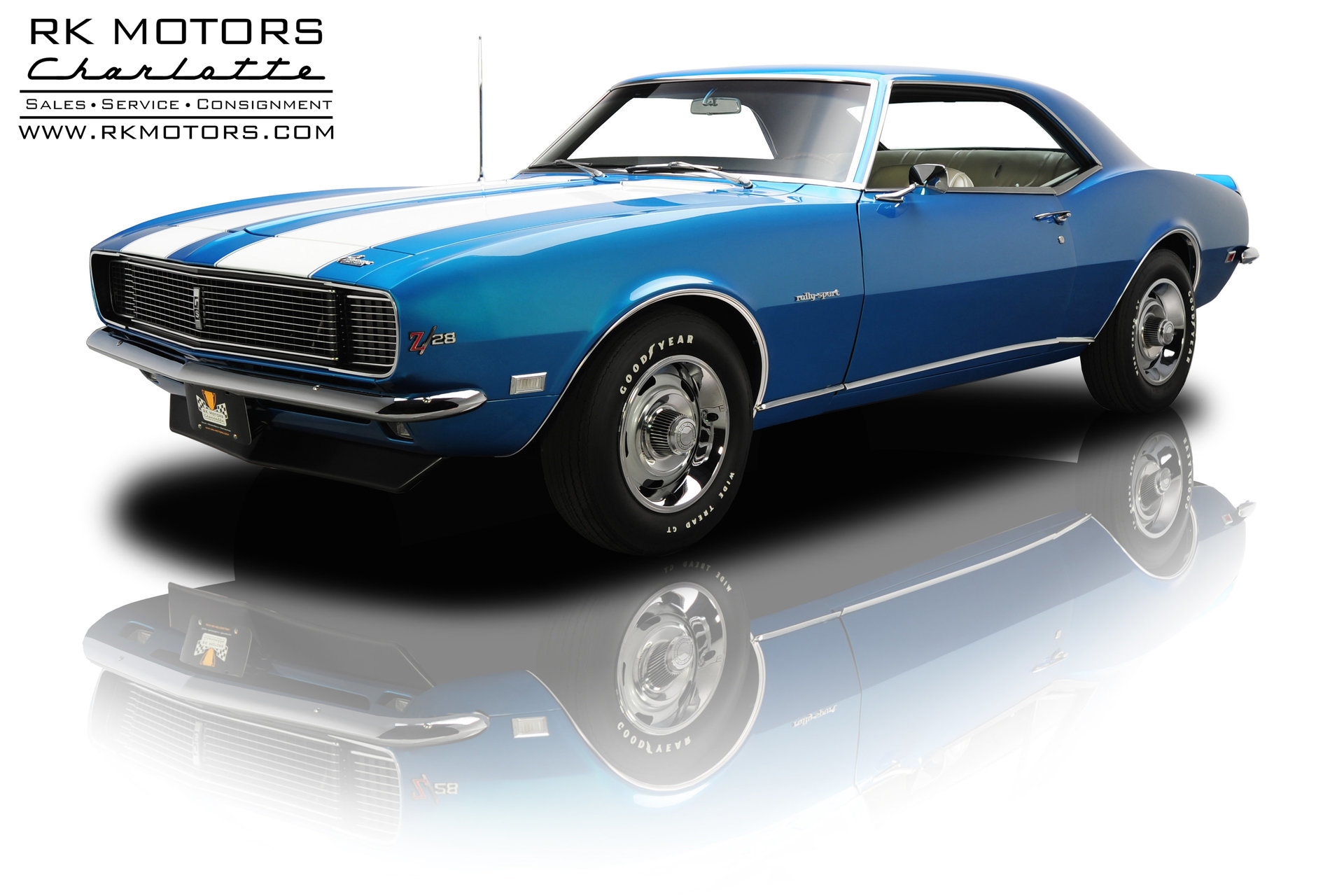 133097 1968 Chevrolet Camaro Rk Motors Classic Cars For Sale Tic Toc Tach Wiring Diagram Frame Up Restored Z 28 Rally Sport 302 4 Speed
