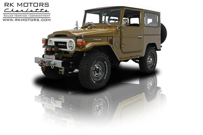 For Sale 1976 Toyota FJ40