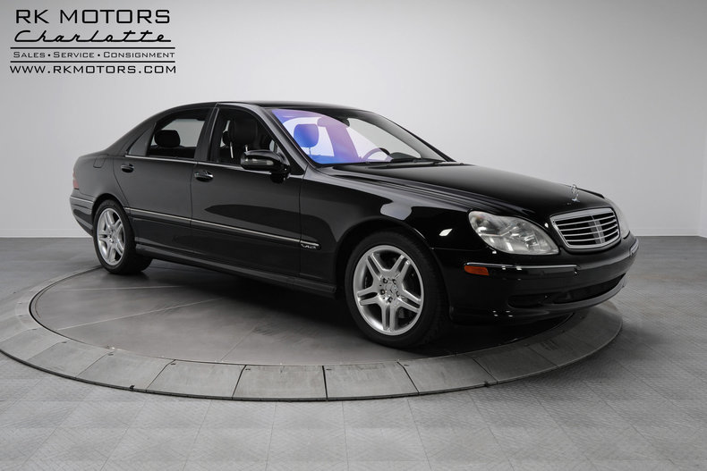 133271 2002 mercedes benz s600 rk motors classic and