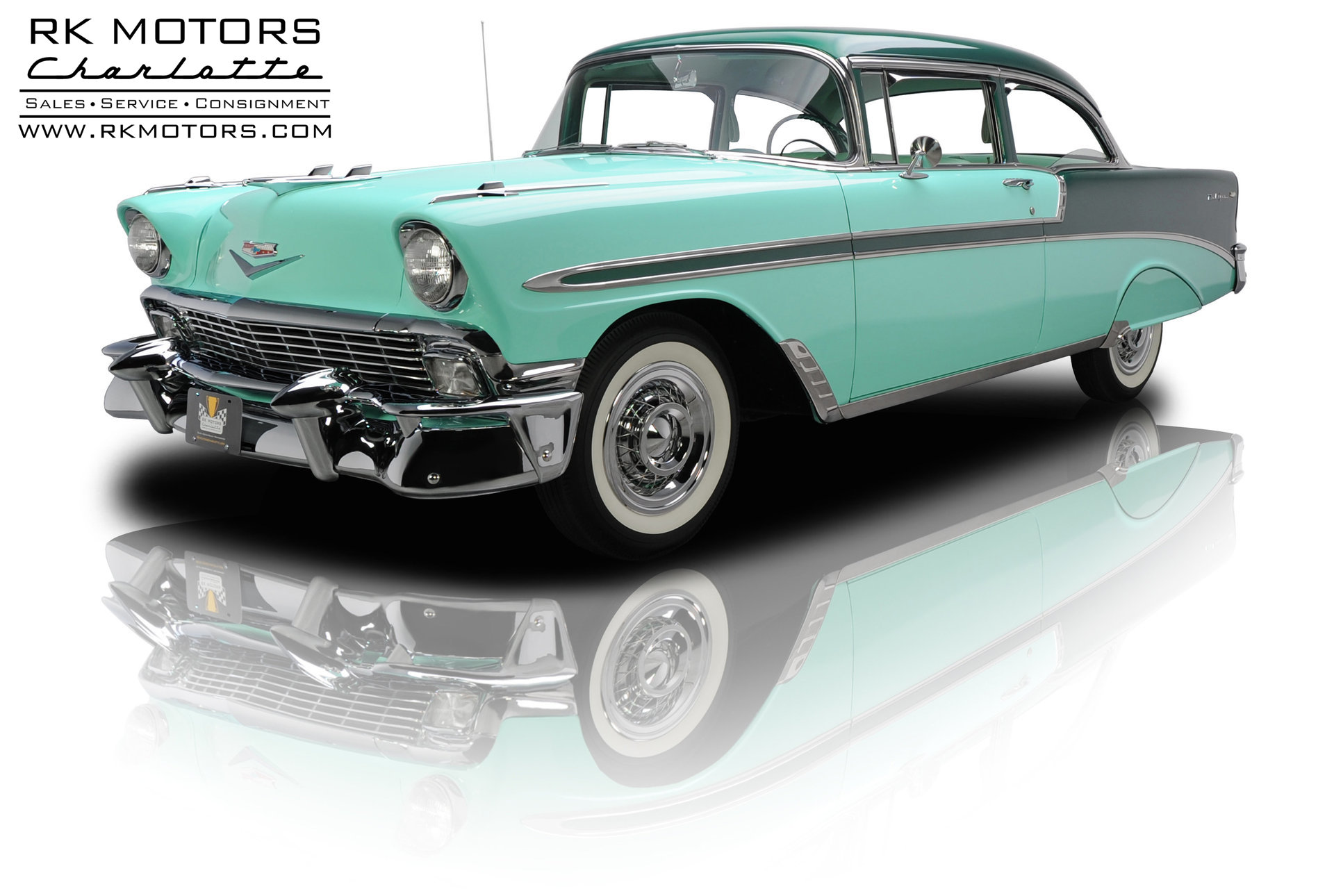 133310 1956 Chevrolet Bel Air | RK Motors Classic and Performance ...