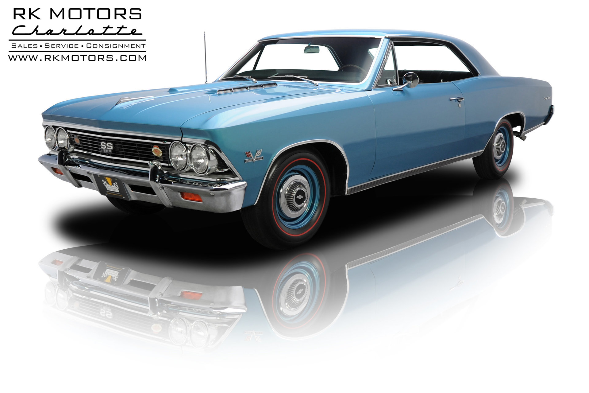 133331 1966 Chevrolet Chevelle Rk Motors Classic And Performance Chevy Ss 396 For Sale