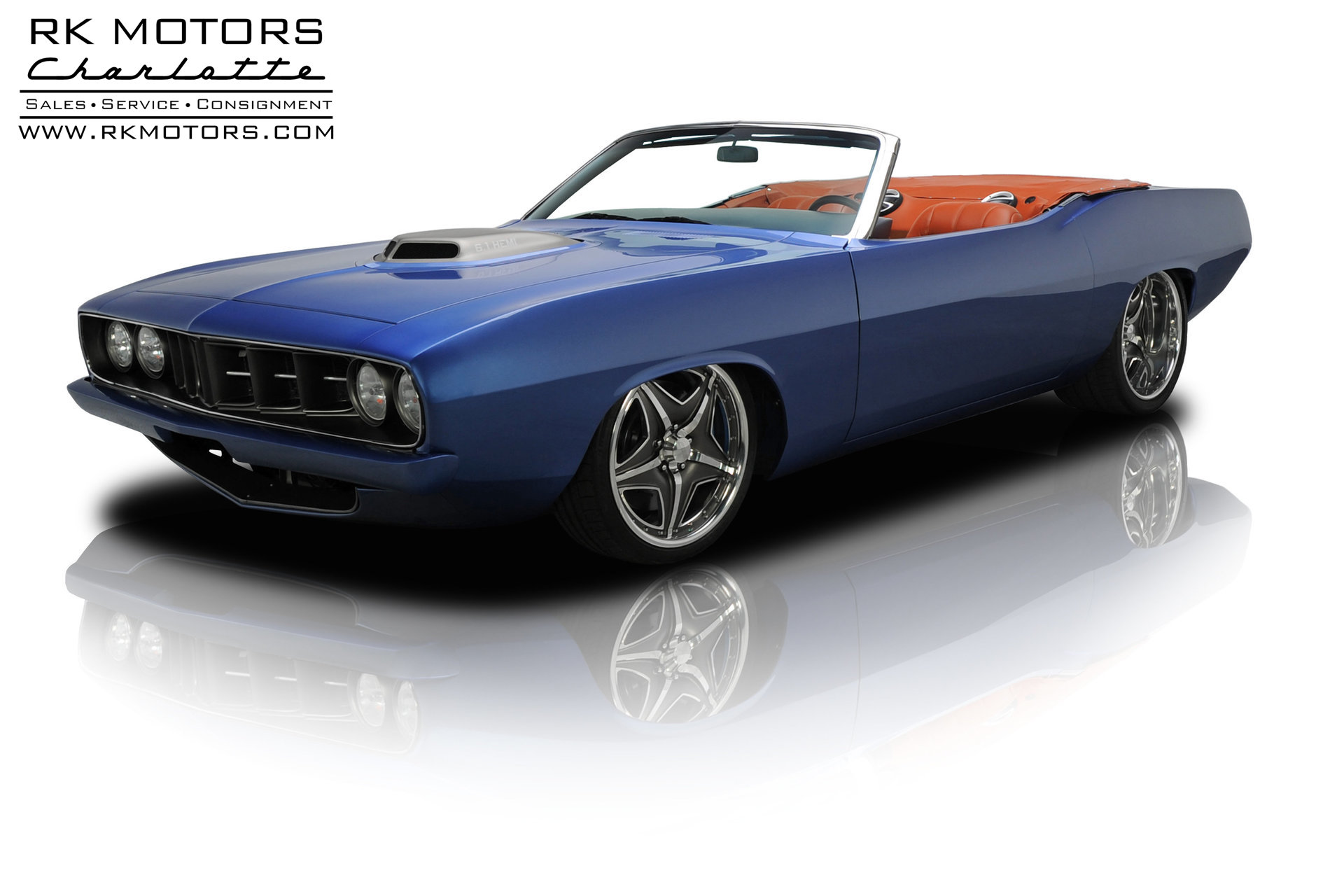 1970 Plymouth Cuda RK Motors Classic Cars for Sale