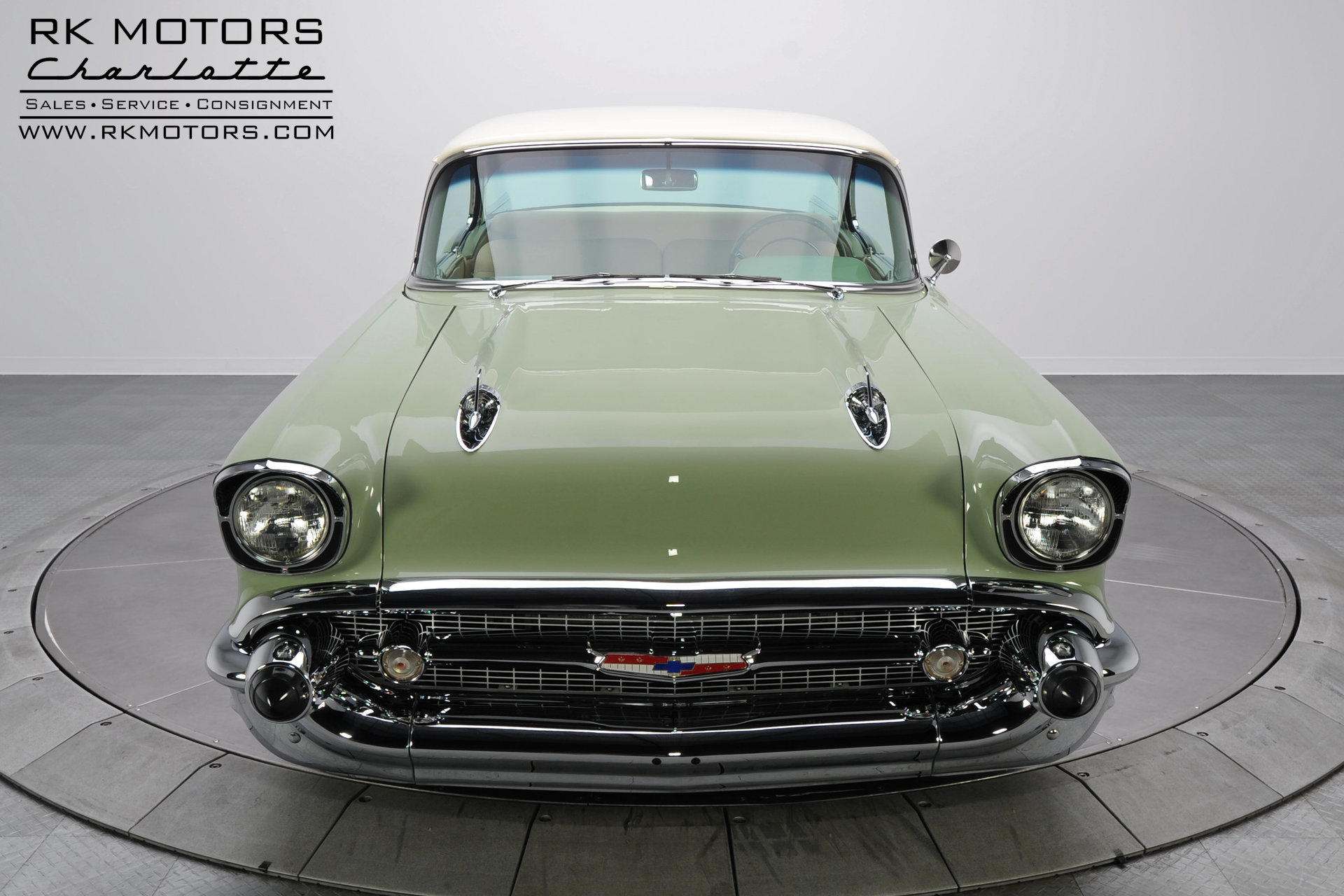 133362 1957 Chevrolet Bel Air Rk Motors Classic And Performance 1966 Value For Sale