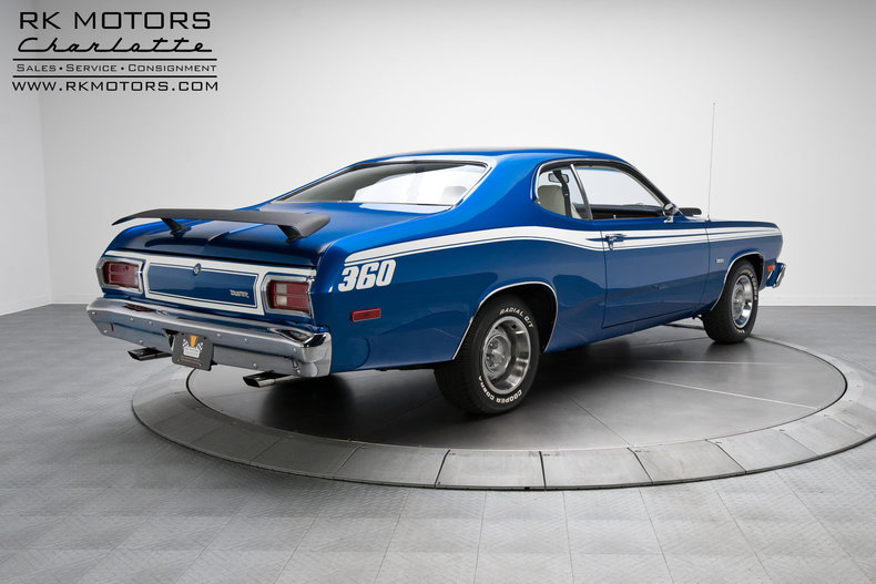 134094 1974 Plymouth Duster Rk Motors Classic And
