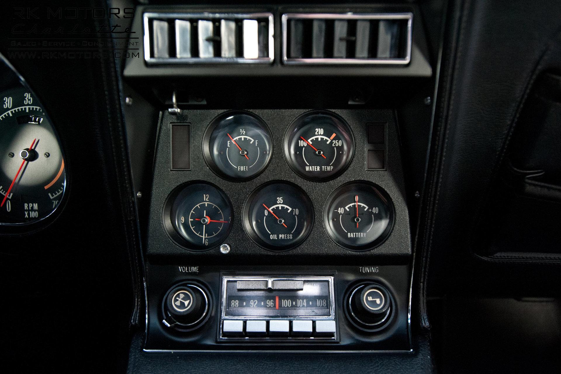 134168 1972 Chevrolet Corvette Rk Motors Classic And Performance Cars For Sale