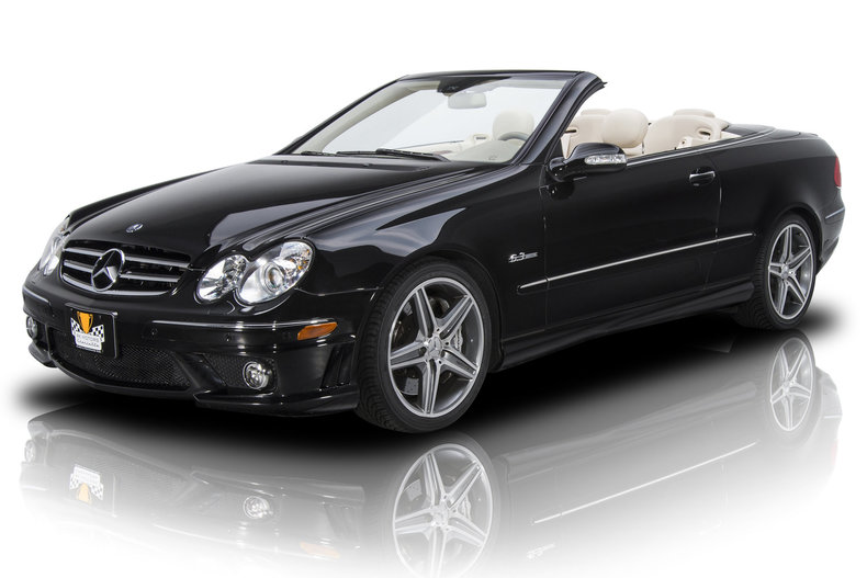 For Sale 2007 Mercedes-Benz CLK63