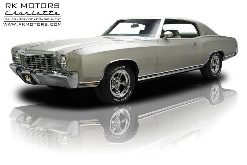 For Sale 1972 Chevrolet Monte Carlo