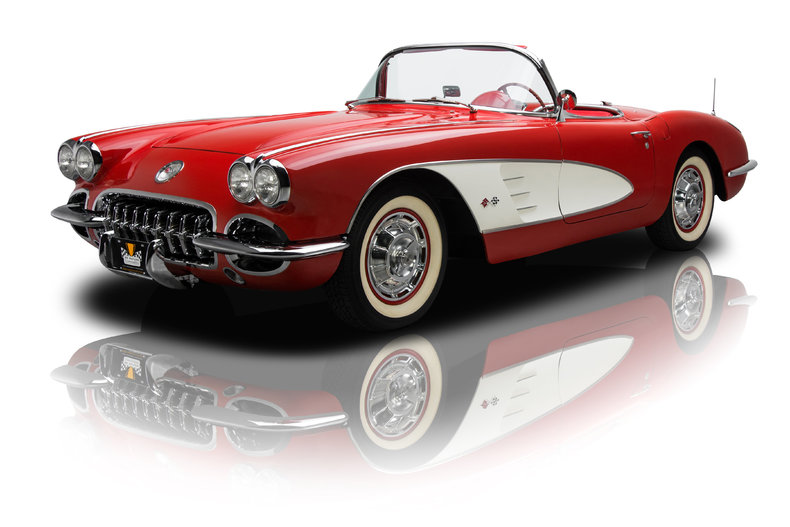 254151 1960 chevrolet corvette low res