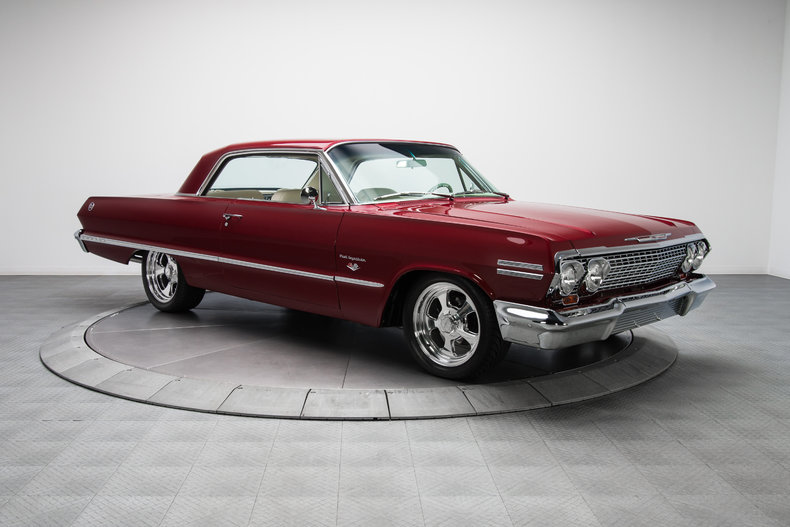 134716 1963 chevrolet impala rk motors. Black Bedroom Furniture Sets. Home Design Ideas