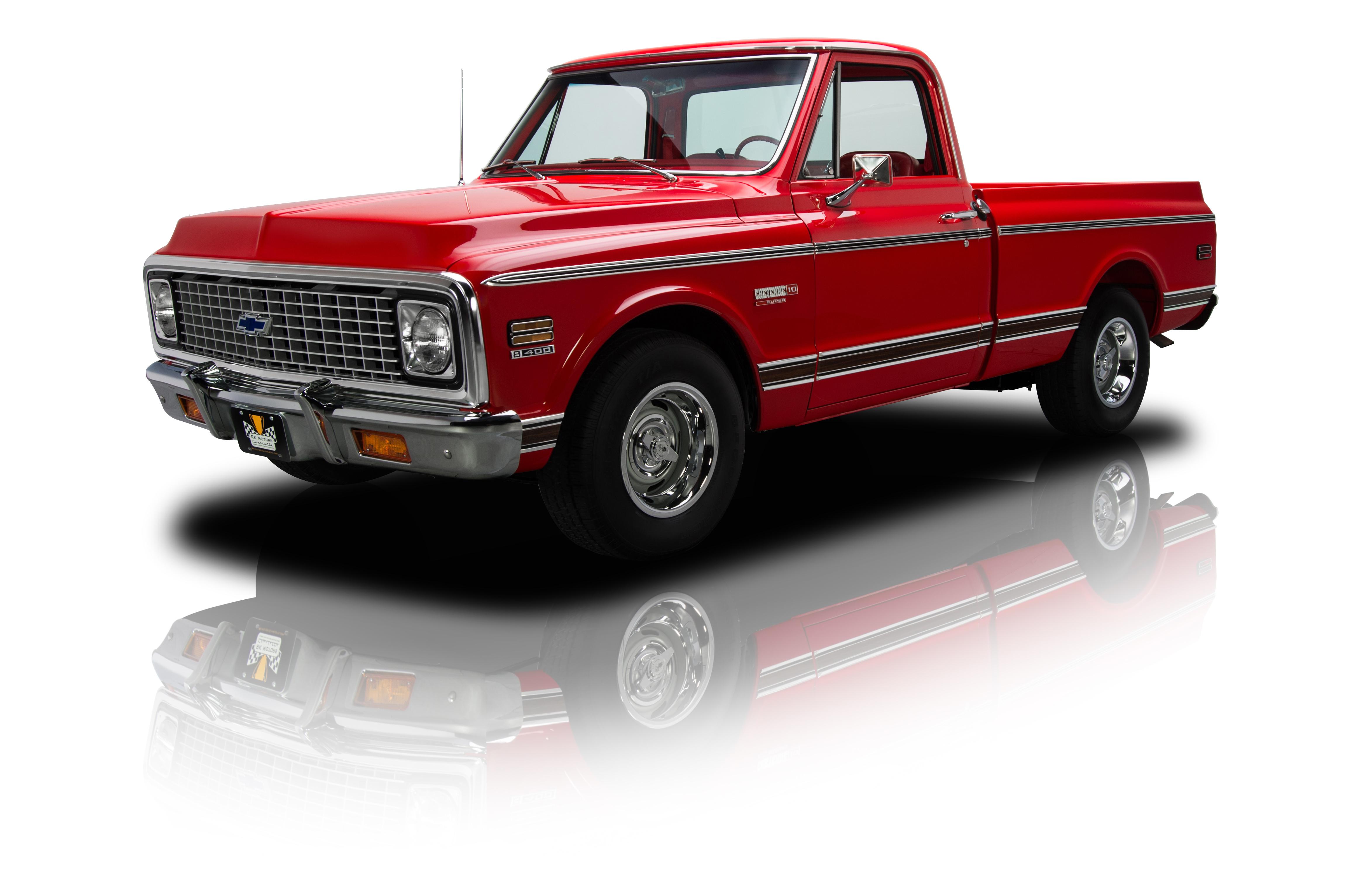 134859 1972 chevrolet c10 rk motors classic and for C k motor car sales