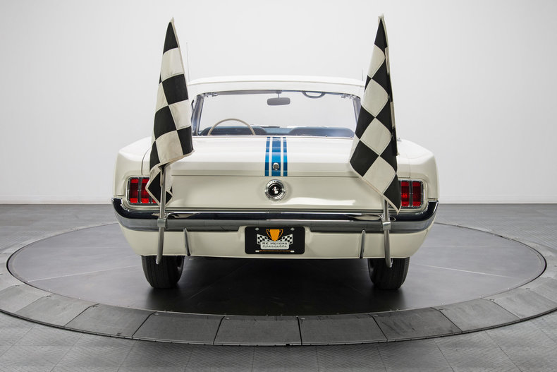 1964 Ford Mustang Pace Car: 1964 Ford Mustang Pace Car 3376 Miles Fleet White Convertible 289 V8 4 Speed Man