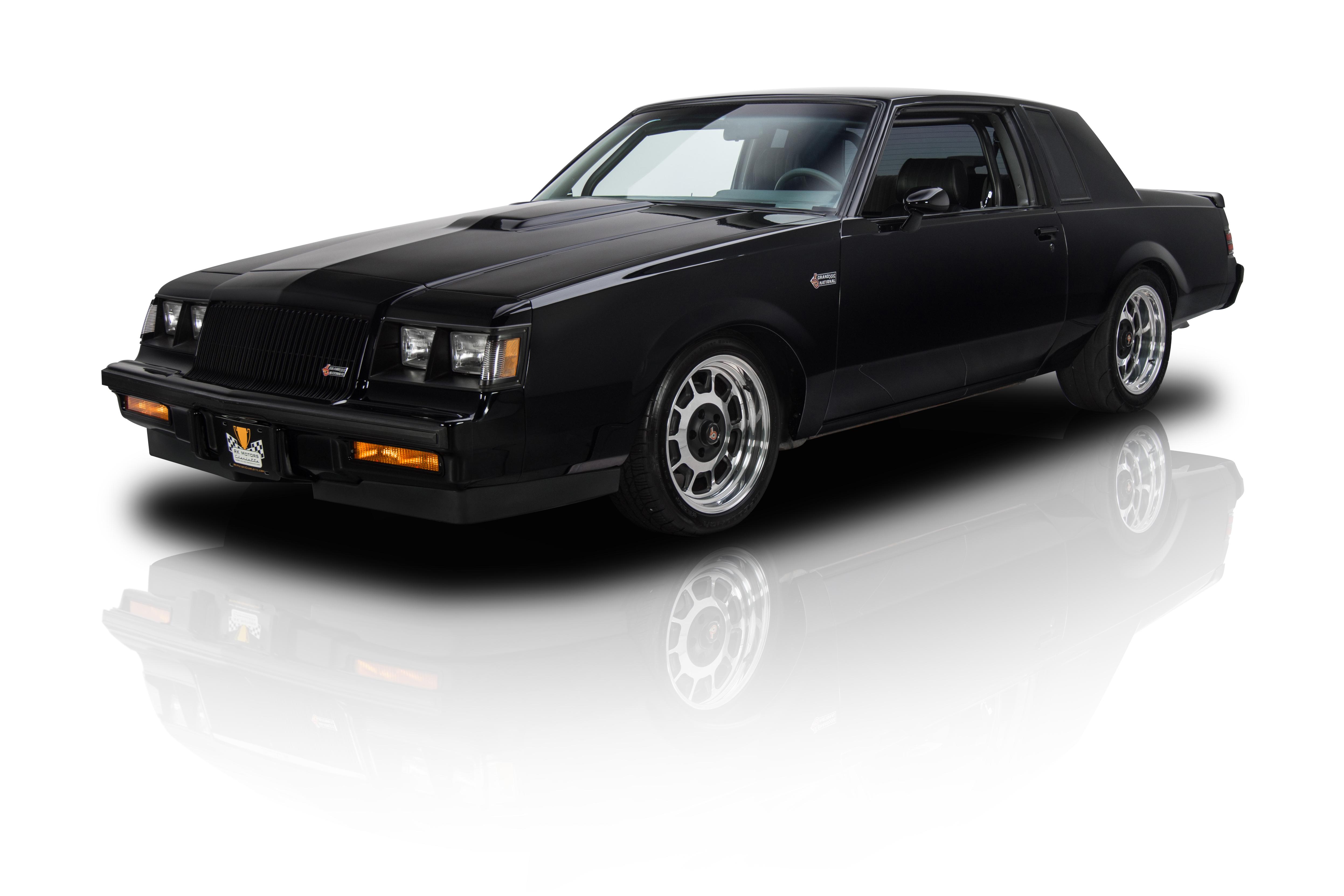 135021 1987 buick grand national rk motors. Black Bedroom Furniture Sets. Home Design Ideas