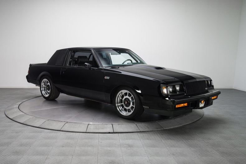 135021 1987 buick grand national rk motors classic and performance cars for sale. Black Bedroom Furniture Sets. Home Design Ideas