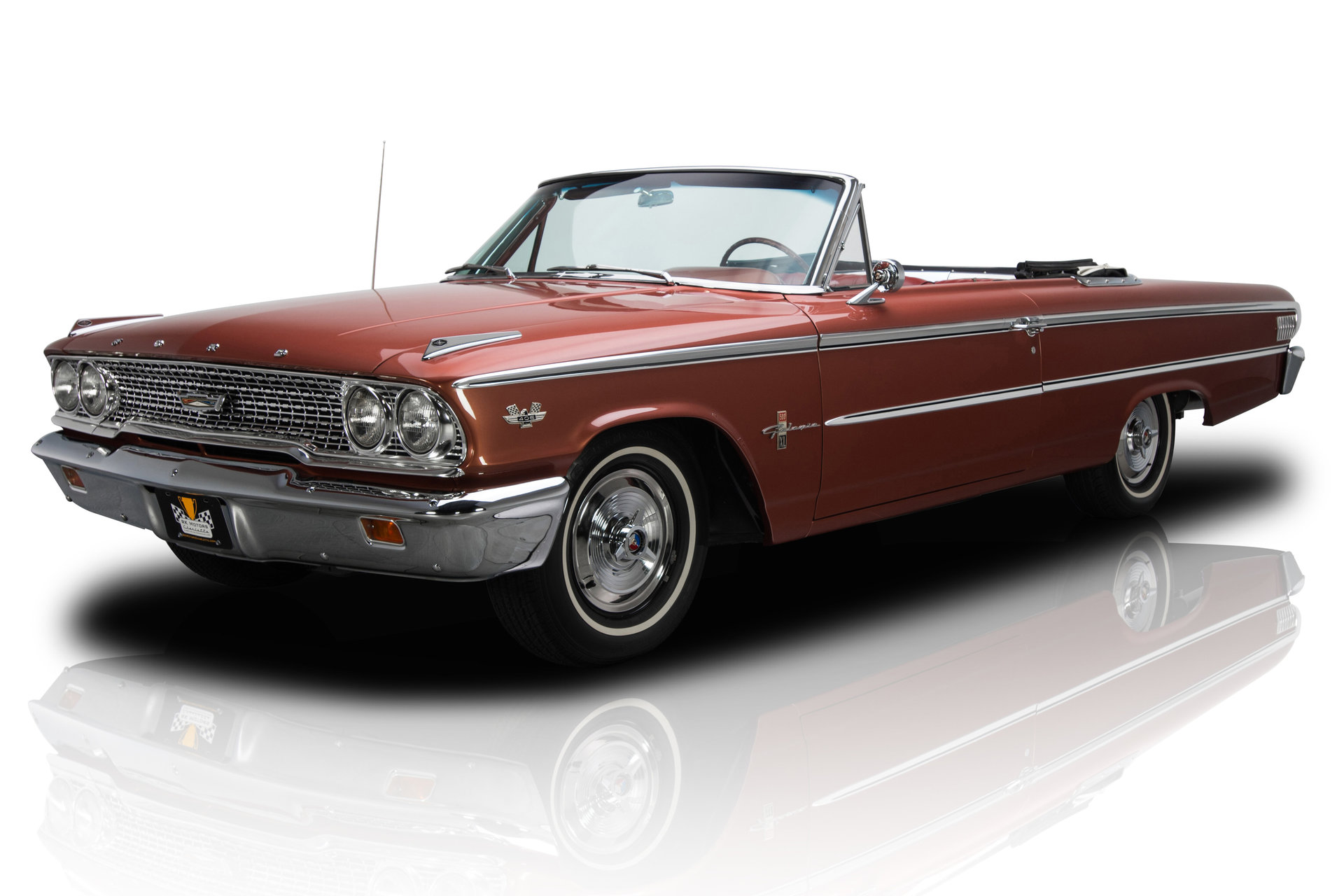 135049 1963 Ford Galaxie Rk Motors Classic Cars For Sale 1964 Rear End Codes Restored 500xl Convertible G Code 406 405 Hp Tri Power V8 4 Speed Pb