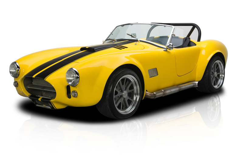 1965 Shelby Cobra --: 1965 Shelby Cobra  2425 Miles Yellow Roadster 385 V8 5 Speed Manual