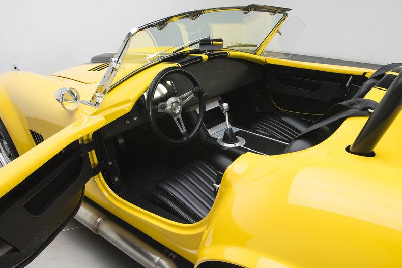 1965 Shelby Cobra --: 1965 Shelby Cobra  2425 Miles Yellow Roadster 385 V8 5 Speed Manual