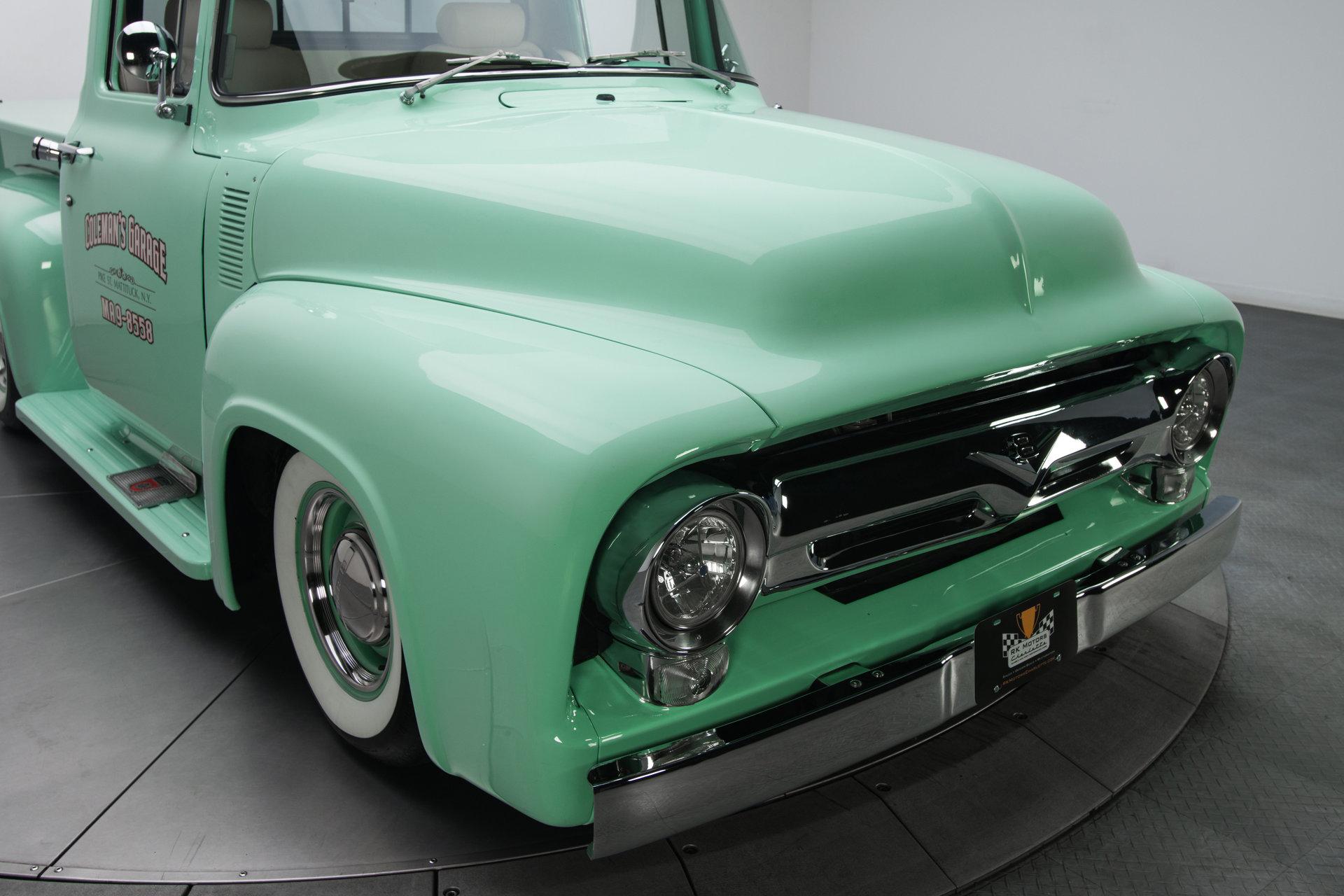 1956 Ford F100 Berlin Motors Radio Trim For Sale