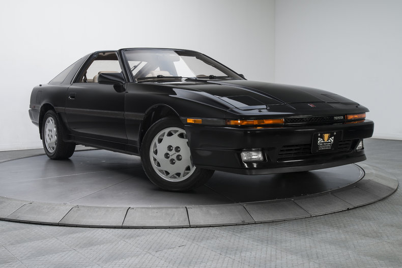 135357 1987 toyota supra rk motors classic and performance cars for sale. Black Bedroom Furniture Sets. Home Design Ideas