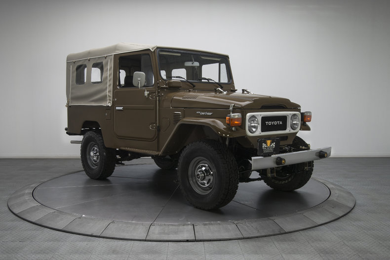 135372 1980 toyota land cruiser rk motors classic and performance cars for sale. Black Bedroom Furniture Sets. Home Design Ideas