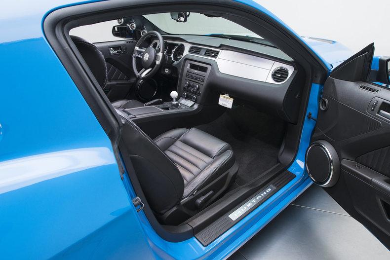 2012 Ford Mustang Shelby GTS: 2012 Ford Mustang Shelby GTS 571 Miles Grabber Blue Coupe 5.0 Liter Coyote V8 6