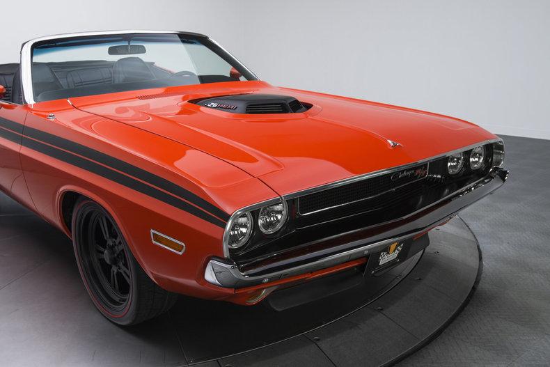 1970 Dodge Challenger R/T: 1970 Dodge Challenger R/T 562 Miles Viper Orange Convertible 472 HEMI V8 5 Speed