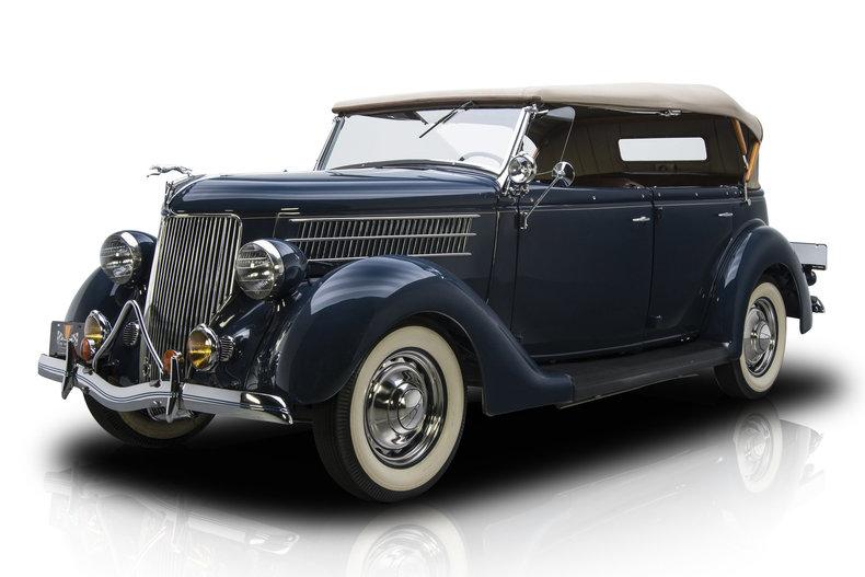136007 1937 Ford Sedan | RK Motors