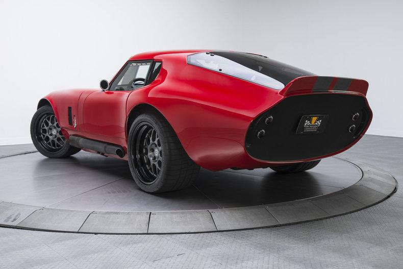 1965 Shelby Cobra Daytona: 1965 Shelby Cobra Daytona 217 Miles Ferrari Red Coupe LS3 6.2L V8 6 Speed Manual