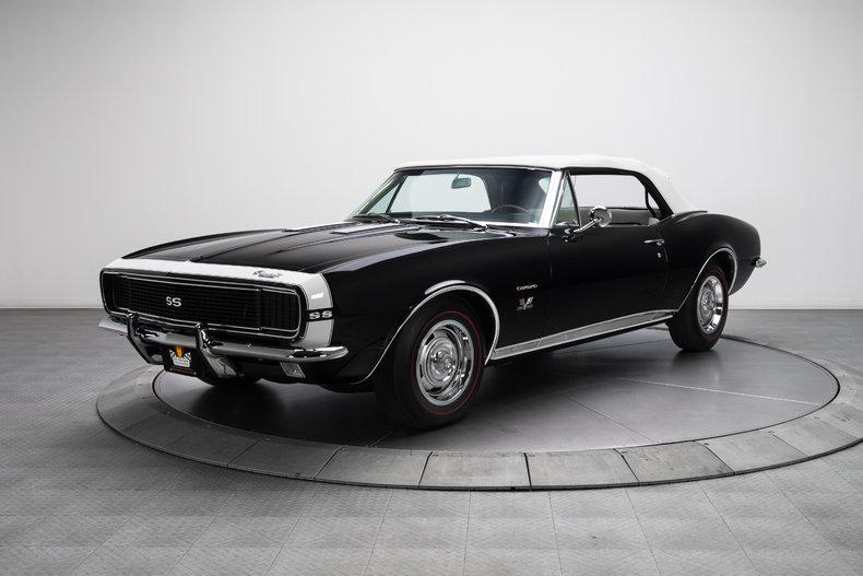 135534 1967 chevrolet camaro rk motors. Black Bedroom Furniture Sets. Home Design Ideas