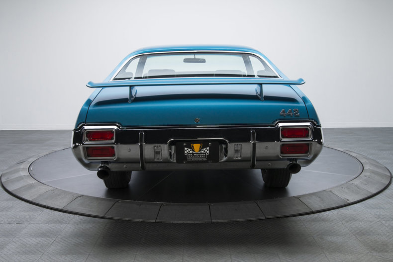 1971 Oldsmobile 442 W-30: 1971 Oldsmobile 442 W-30 17039 Miles Viking Blue Hardtop 455 V8 4 Speed Manual