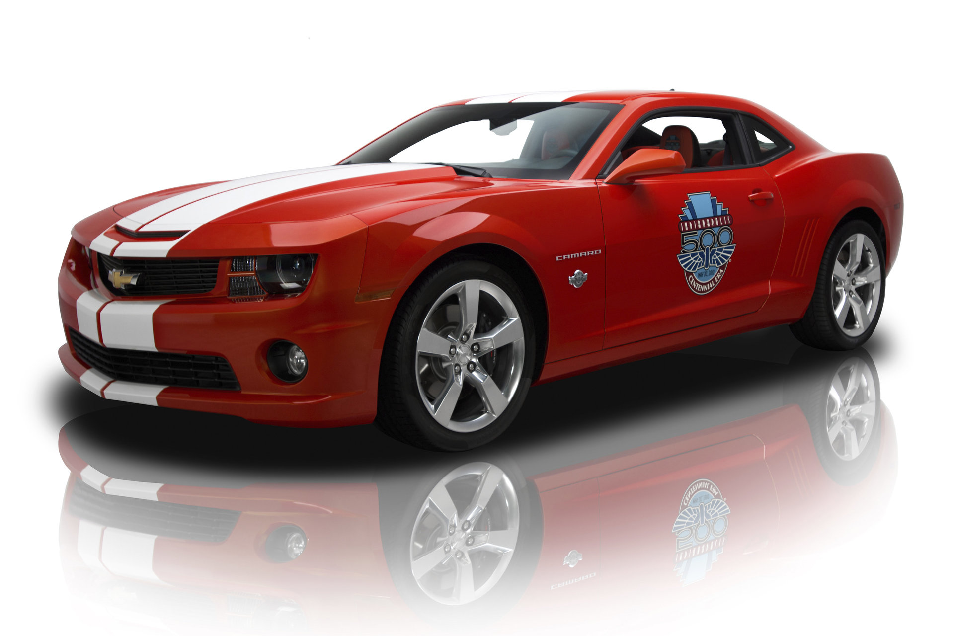 2010 chevrolet camaro indianapolis 500 pace car for sale 75625 mcg. Black Bedroom Furniture Sets. Home Design Ideas