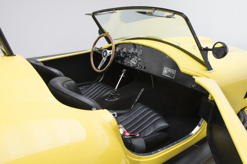 1965 Shelby Cobra CSX 4000: 1965 Shelby Cobra CSX 4000 2828 Miles Yellow Roadster 427 V8 5 Speed Manual