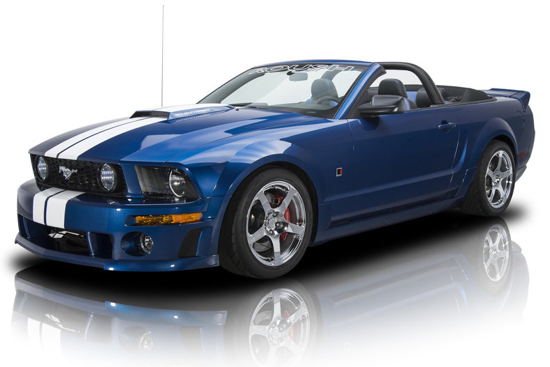 2007 ford mustang roush stage 3 for sale 63196 mcg. Black Bedroom Furniture Sets. Home Design Ideas