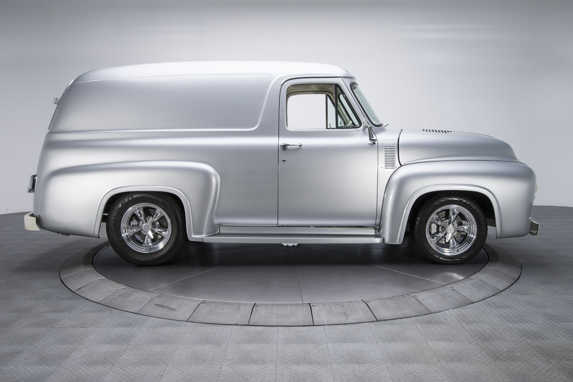 1955 Ford F100 Panel Truck For Sale 60370 Mcg Side View