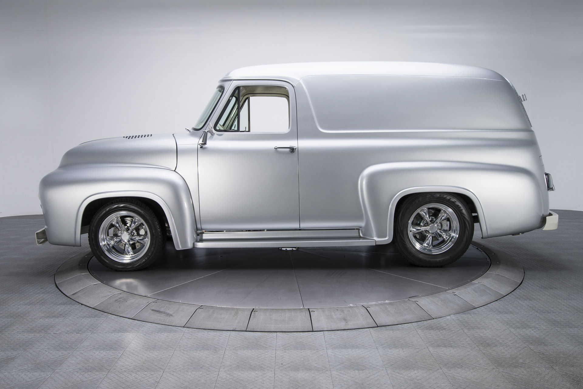 1955 Ford F100 Panel Truck For Sale 60370 Mcg Running Boards
