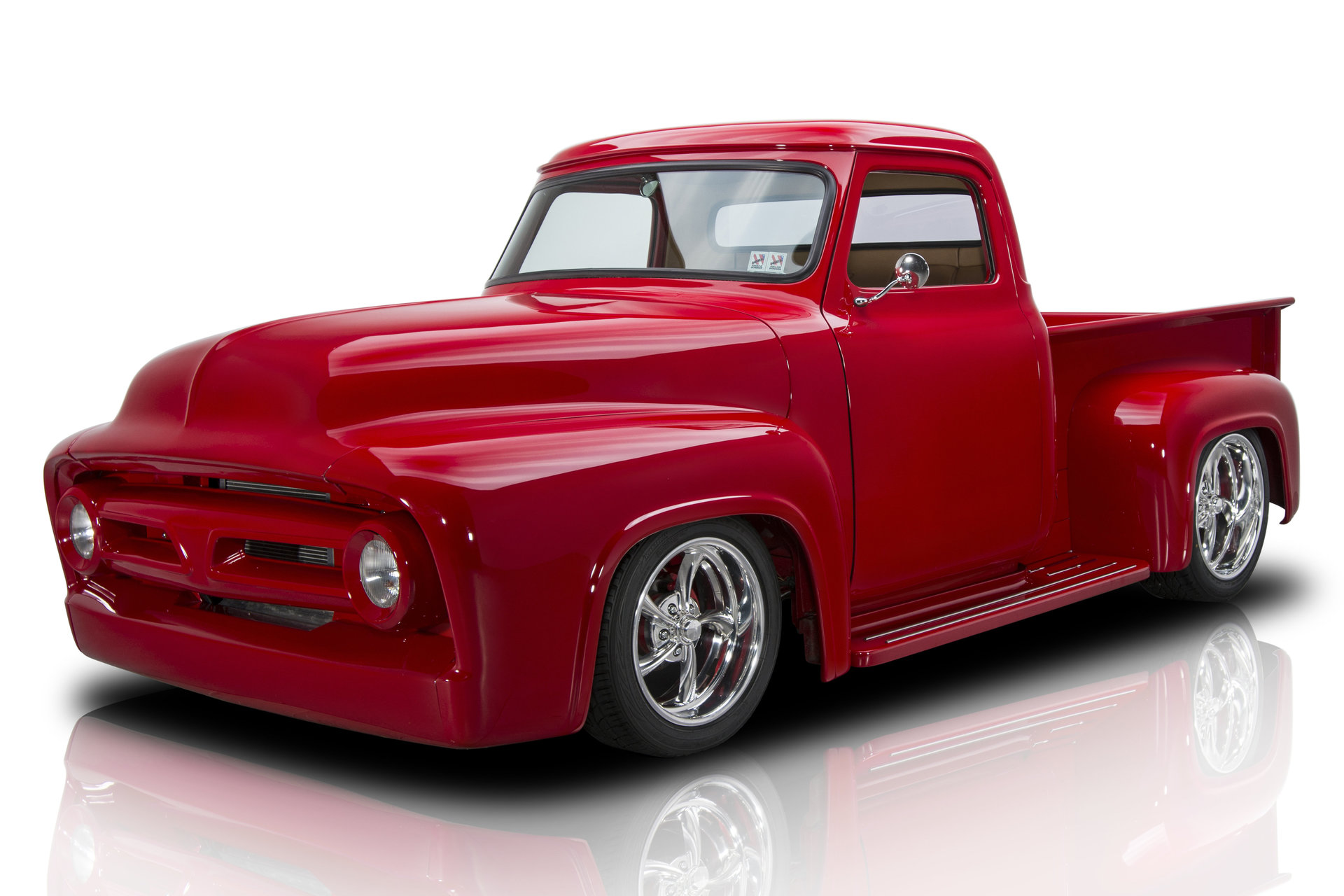 1953 Ford F100 Pickup Truck For Sale 60376 Mcg 1955 Long Bed Pick Up
