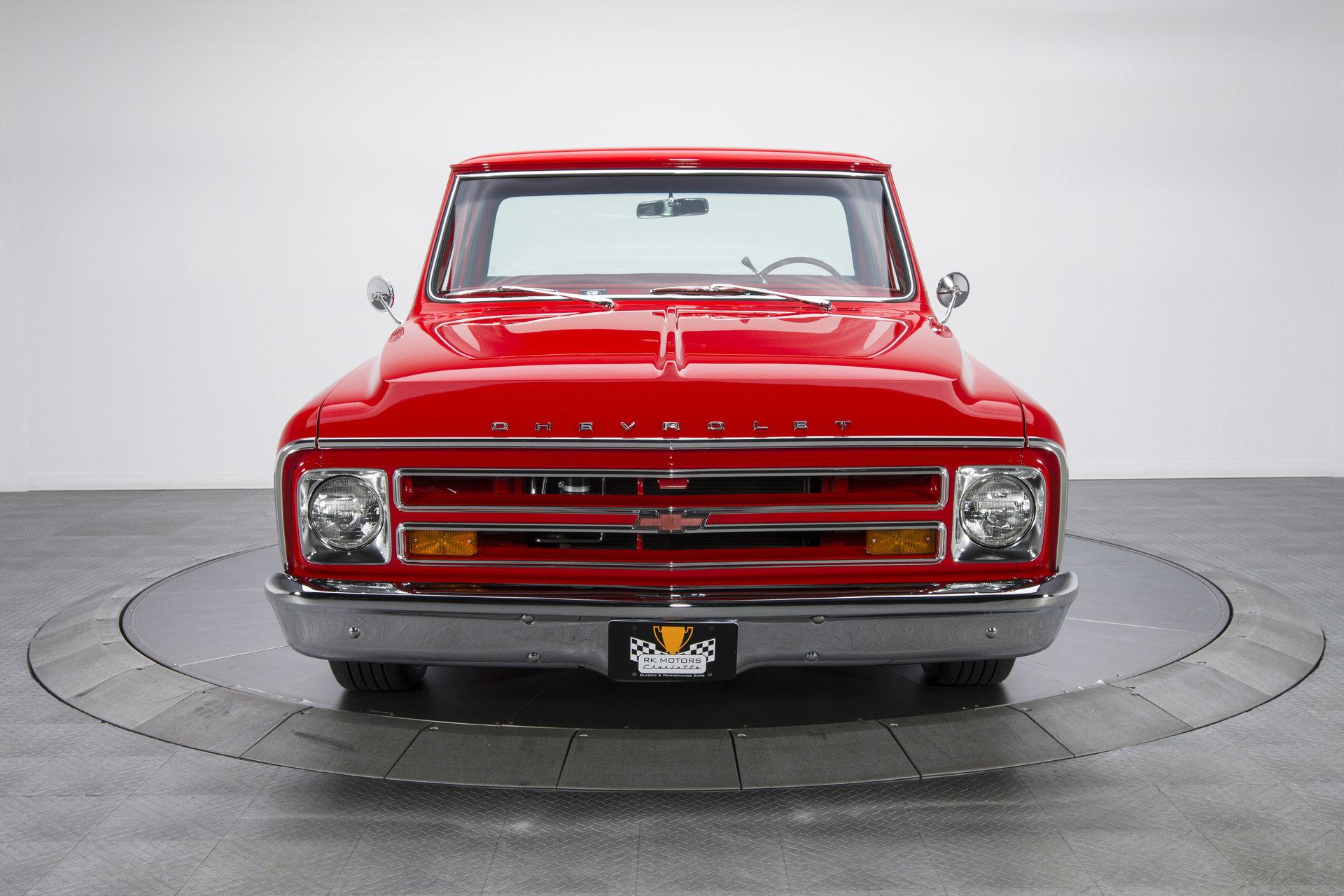 136041 1968 Chevrolet C10 Pickup Truck Rk Motors Classic And 1966 Chevy Door Panels For Sale