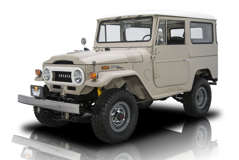 For Sale 1971 Toyota Land Cruiser