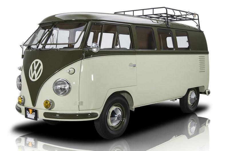 1958 Volkswagen 11-Window Microbus