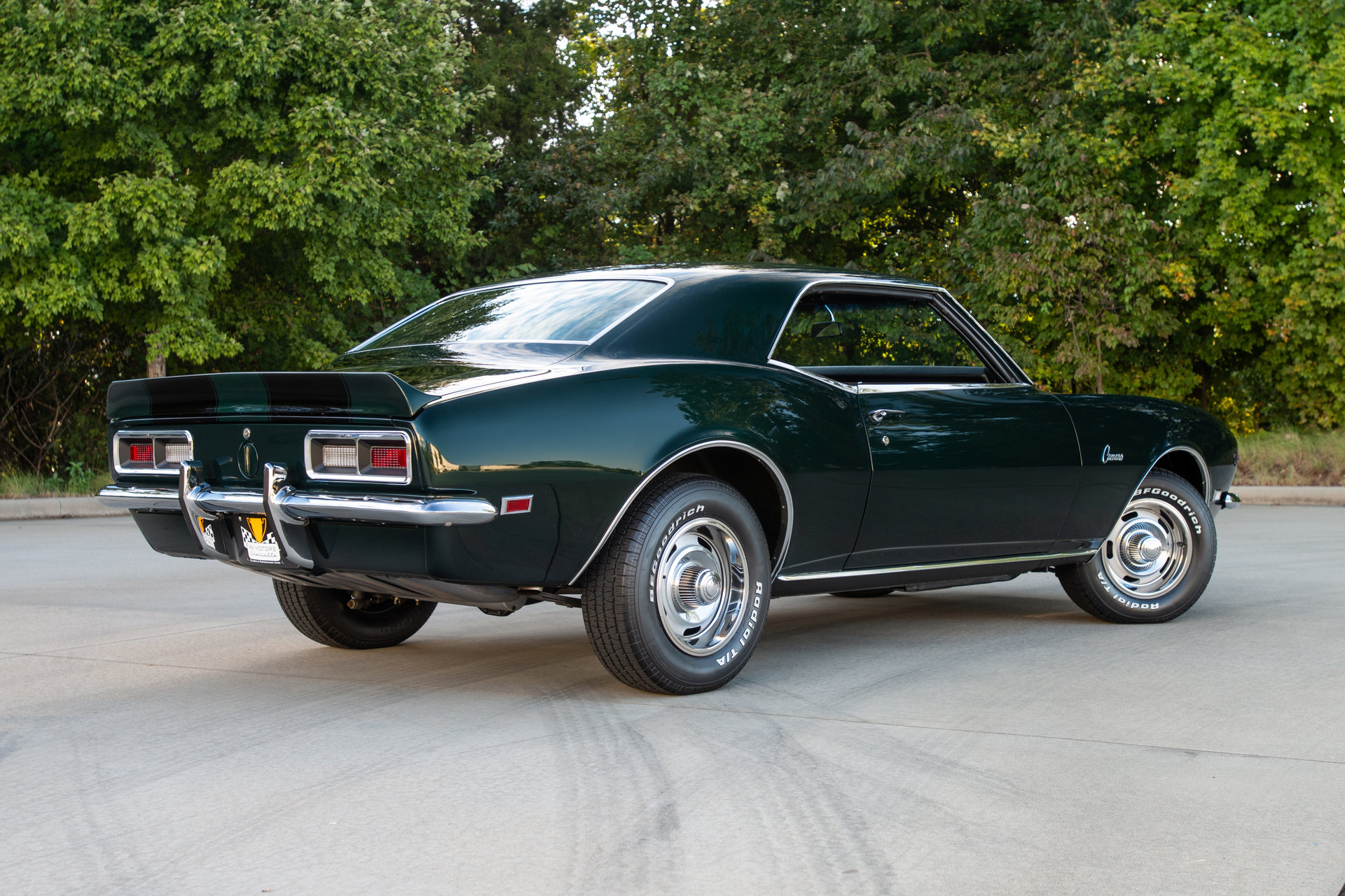 136160 1968 Chevrolet Camaro Rk Motors Classic And Performance Z 28 For Sale