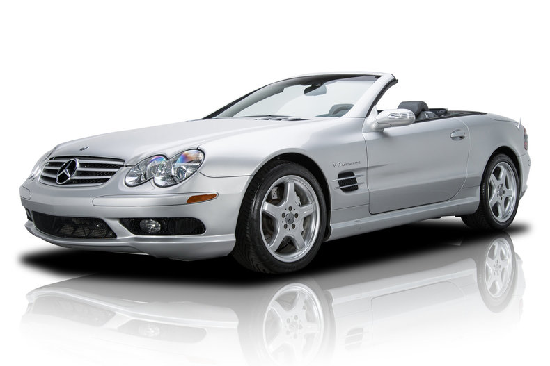 2004 Mercedes Benz. SL55 AMG