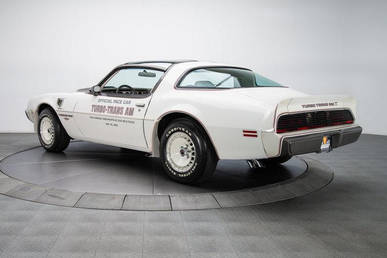 136225 1980 Pontiac Firebird Trans Am Pace Car Rk Motors
