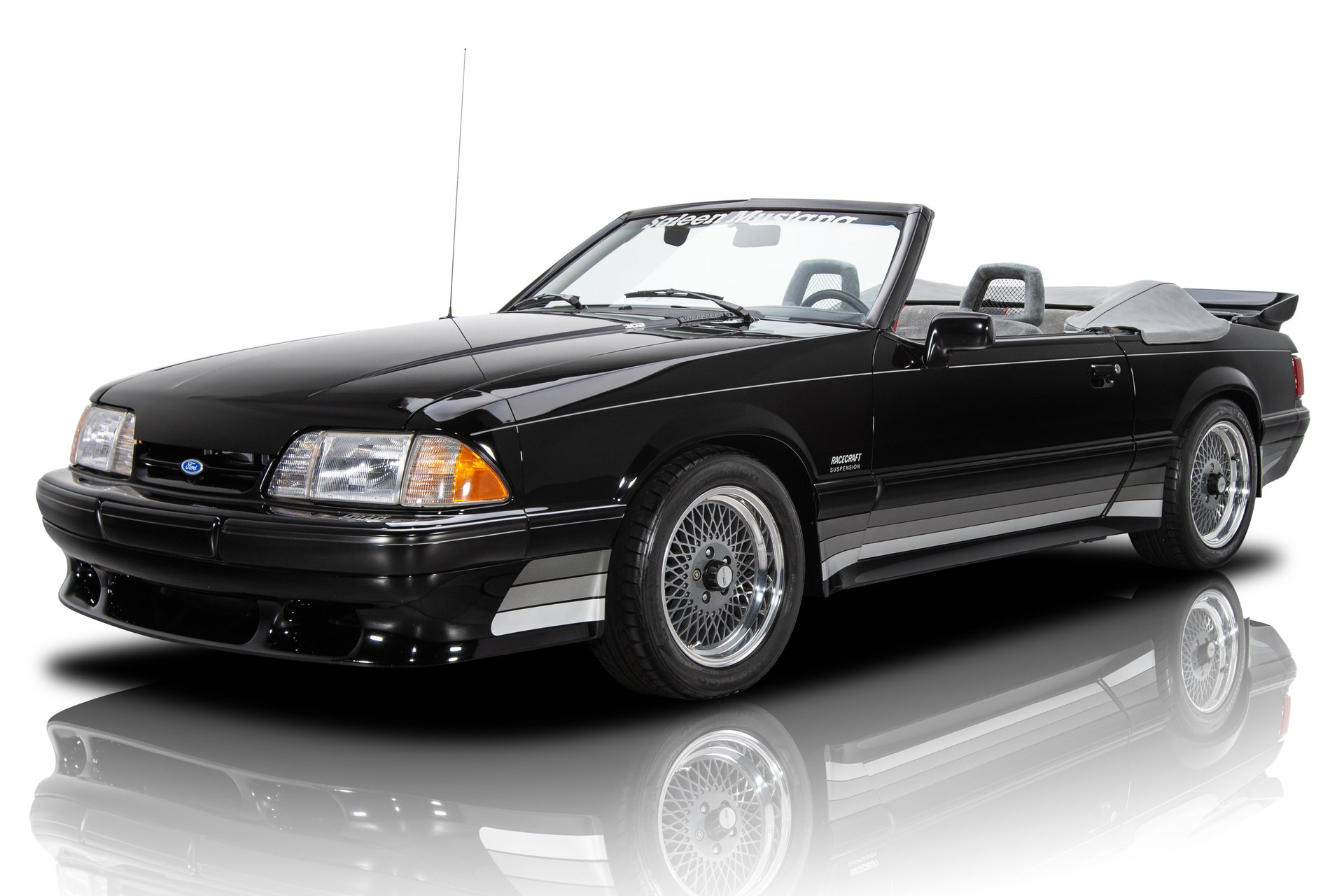 1 of 137 Saleen Mustang Convertible 5.0L V8 5 Speed Manual A/C 14,216 Miles