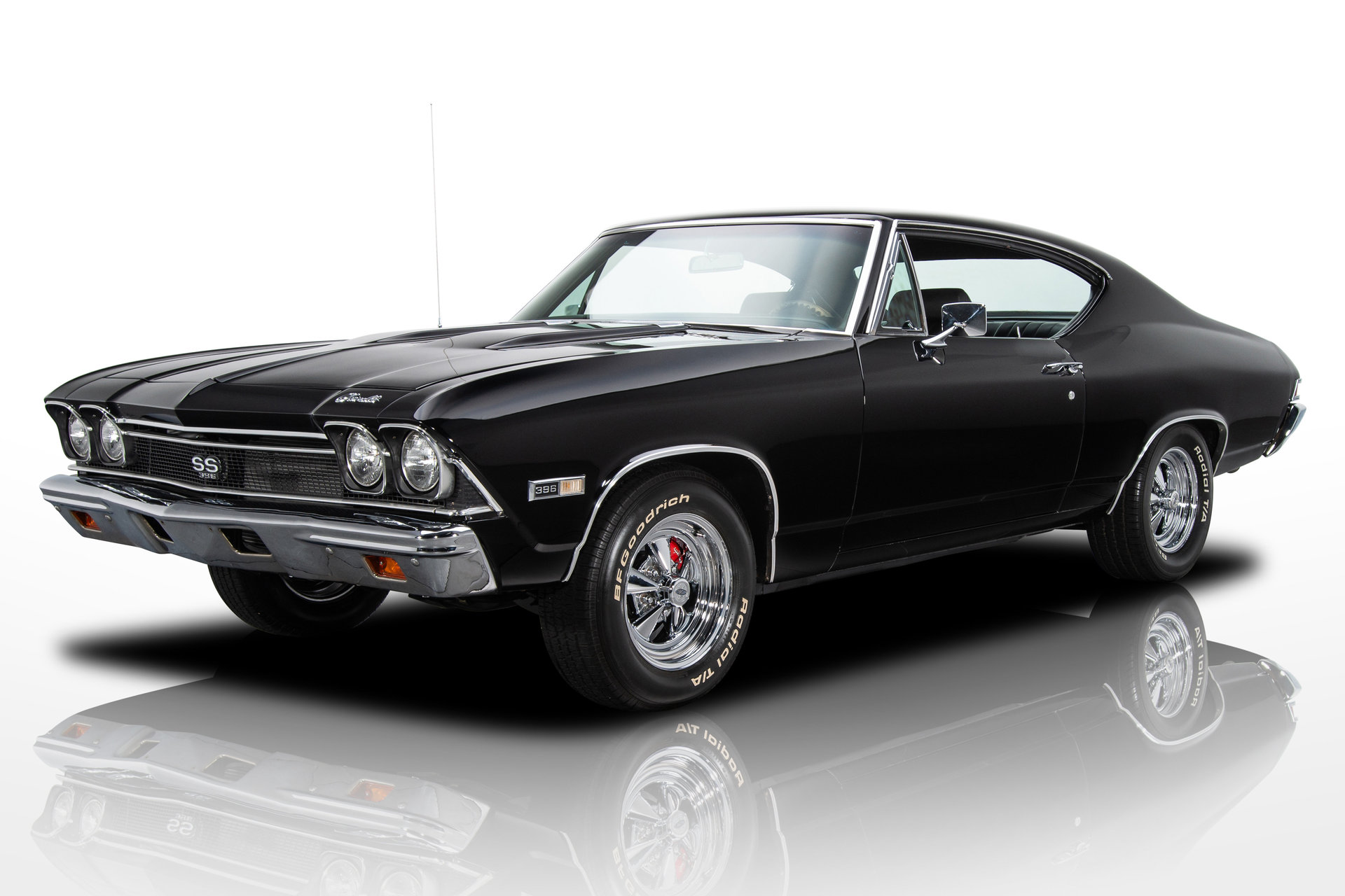 136318 1968 Chevrolet Chevelle Rk Motors Classic And Performance Chevy Blazer Lifted For Sale